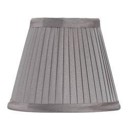 Currey & Company - Shantung Pleated Shade - Decorative shade