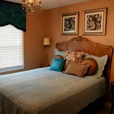 Mediterranean Bedroom by Cheryl Hucks Interior Designs