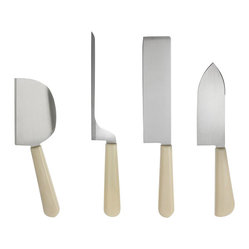 "Alessi ""Milky Way Minor"" Cheese Knives"