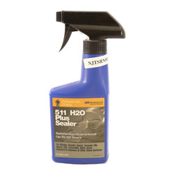 Miracle Sealants - Miracle Sealants 511 H2O Plus - Water Base Penetrating Sealer - 8 oz. - Miracle Sealant 511 H2O Plus is a penetrating sealer that protects all surfaces with a water based design. 511 H2O does not have an odor nor does it alter the look of your surface. It also doesn't contain any P.F.O.S. or P.F.O.A. components. This shows that it superior in competition with its performance. SCS Certified Indoor Advantage Gold!