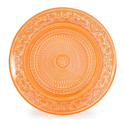 Classica Dessert Plate, Orange - Set a gorgeous autumn dining table with these sweet orange dessert plates.