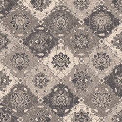 Dynamic Rugs - Dynamic Rugs Farahan 7.10X10.10 95009-4828 Grey - The Farahan Collection is a modern blend of intricate, traditional designs and subtle coloration. These contemporary rugs bring classic style in an updated palette of gorgeous neutrals. A beautiful finishing touch to any modern living space, the Farahan Collection enhances today�s home with casual elegance.