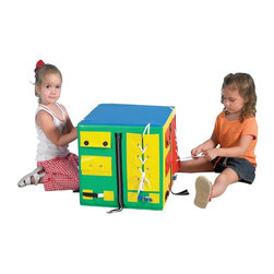 Childrens Factory - Childrens Factory Developmental Play Cube Multicolor - CF332-473 - Shop for Developmental Toys from Hayneedle.com! About The Children's Factory Kirkwood Mo 1982 - The Childrn's Factory was created in the attic of its founders. Their vision was to create a soft play environment where children could play safely. They started with a basic 3D animal shape perfectly sized for a young child. From there other products were developed and the company quickly grew in size. Soft safe creative play is their passion. Their products are designed towards ASTM standards and their materials meet or exceed the CPSIA requirements.