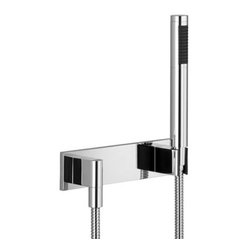 MEM | Hand shower set with cover plate | Collection By Dornbracht
