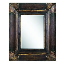 Benzara - Wood Mirror Multipurpose Wall Decor - WOOD MIRROR is an excellent anytime low priced wall decor upgrade option that is high in modern age purposeful wall decor fashion.