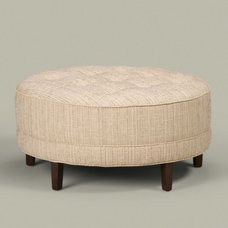 Traditional Ottomans And Cubes by Ethan Allen