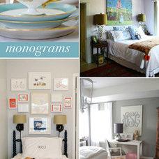 Interior Style File: Monograms | theglitterguide.com