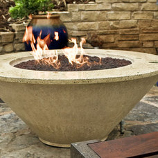 Contemporary Fire Pits by Studio EMG