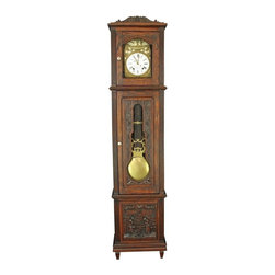 EuroLux Home - French Brittany Morbier Grandfather Longcase - Product Details