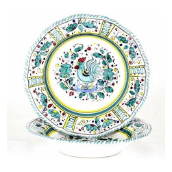 Artistica - Hand Made in Italy - Orvieto: Pasta/Soup Bowl - Orvieto Collection: This is a very old and traditional pattern that originated during the Renaissance in the hill-top town of Orvieto - Italy.