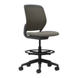 Steelcase Cobi Stool, Black Frame