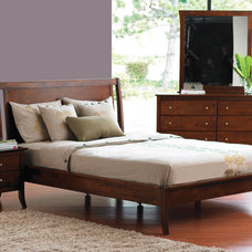 Contemporary Beds by Plummers Furniture