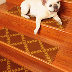Stair Treads New Arrivals  (9x29 inches, 13 Pieces) - Natural Area Rugs