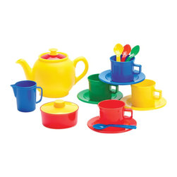 The Original Toy Company - The Original Toy Company Kids Children Play Tea Time - Dishwasher safe. packed in a net bag with hook. Age 3 years plus. Weight: 2 lbs.