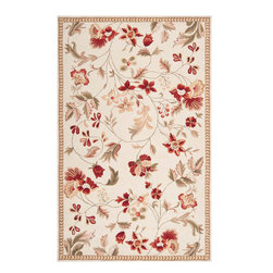 Flor FLO8998 Rug - 8'x10' - This modern new Transitional rug made in 100% Wool from the fall 2011 collection by Surya will be sure to compliment whatever interior setting you are building for your home. High quality materials make the texture and feel of this rug a pleasure to walk on and touch. Fit to make any room in your home the lap of luxury, these carefully crafted rugs come in all different shapes and sizes, colors and designs, styles, materials and fabrics. These area rugs are certain to add a touch of style and class to your home without breaking the bank.