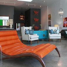 Eclectic Living Room Bethany Nauert