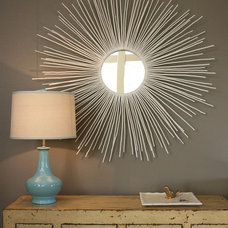 Frames Create a Sunburst Mirror : Rooms : Home & Garden Television