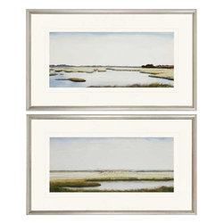 Paragon Art - Paragon Marshlands I ,Set of 2 - Artwork - Marshlands I ,Set of 2         ,  Paragon Exclusive Giclee     Artist is Coggins , Paragon has some of the finest designers in the home accessory industry. From industry veterans with an intimate knowledge of design, to new talent with an eye for the cutting edge, Paragon is poised to elevate wall decor to a new level of style.