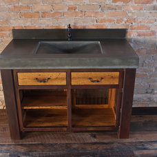 Traditional Bathroom Vanities And Sink Consoles by Elements Concrete