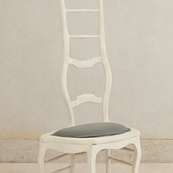 """Anthropologie - Assemblage Chair By Valentin Loellmann - One of a kindWood, resin frame58.25""""H, 26.75""""W, 16.5""""DSeat: 5.5""""HHandmade in Netherlands"""