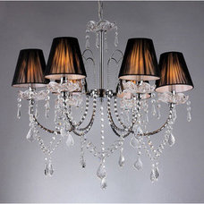 Chandeliers 6-way Crystal Chandelier