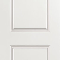 2-Panel Interior Door - One of our most popular selling doors, the 2-Panel interior door is a beautifully designed door, engineered to resist warping, shrinking and cracking.  The simple 2-panel design is sure to complement the décor in any home and is offered for closets, pocket doors, barn doors and fire doors.