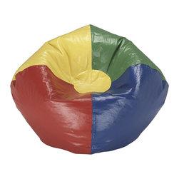 Ace Bayou - Ace Bayou Multi Primary Matte Bean Bag - Multi Primary Matte Bean Bag by Ace Bayou.