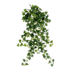 Silk Plants Direct - Silk Plants Direct Mini Ivy Vine Hanging Bush (Pack of 12) - Silk Plants Direct specializes in manufacturing, design and supply of the most life-like, premium quality artificial plants, trees, flowers, arrangements, topiaries and containers for home, office and commercial use. Our Mini Ivy Vine Hanging Bush includes the following: