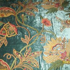 Upholstery Fabric by kashmir modernart gallery