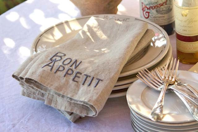 Rustic Napkins by The Old Painted Cottage