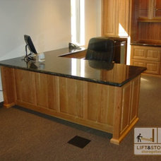 Traditional Desks by Lift and Stor Beds