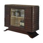Ambella Home - New Ambella Home Bar Cabinet Brown Emperador - Product Details