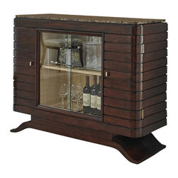 Ambella Home - New Ambella Home Bar Cabinet Brown Emperador - Product Details