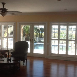 Interior Faux Wood Plantation Shutters -
