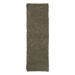 Surya - Aros Mushroom Runner Size Shag Rug - With supreme durability in mind, the Aros Mushroom Runner Size Shag Rug is constructed entirely of 100% New Zealand felted wool. The inherent comfort and durability of this sumptuous is sure to complement any contemporary decor. The rug boasts trend-setting color and a great design for chic interiors in the home. With its high quality and gorgeous soft pile, the rug is designed to impress all your guests.