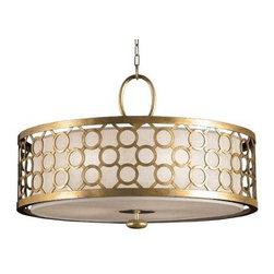Allegretto 780140 Drum Pendant by Fine Art Lamps -