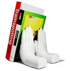 Contemporary Bookends by Danya B
