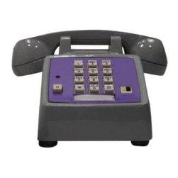 Pro-Painted 2-Tone Gray & Purple Desk Phone - $130 Est. Retail - $120 on Chairis -