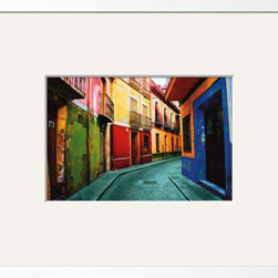 Artcom - Granada, Spain by Ynon Mabat - Granada, Spain by Ynon Mabat is a Framed Art Print set with a CHELSEA White wood frame and a Crisp - Bright White mat.