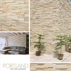 Mediterranean Indoor Fireplaces by World Class Tiles
