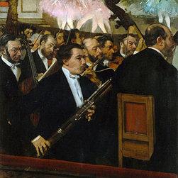 The Opera Orchestra, c.1870 | Edgar Degas | Canvas Prints - Condition: Unframed Canvas Print