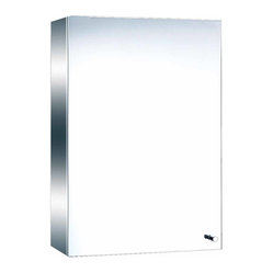 The Renovators Supply - Medicine Cabinets Bright Stainless Mirror Cabinet 19 3/4H | 13517 ...