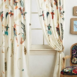 Michelle Morin - Nests & Nectar Curtain - *By Michelle Morin