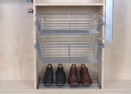 Clothes And Shoes Organizers by The Closet Builder