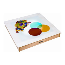 Jonti-Craft - Jonti Craft Tabletop Light Box - Lower profile makes it easy to explore colors or trace on this portable light box.