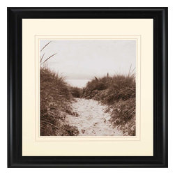 Paragon - Dune Path - Framed Art - Each product is custom made upon order so there might be small variations from the picture displayed. No two pieces are exactly alike.