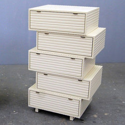 Jeb Jones - Jeb Jones | Jeb Jones Stacking Drawers, Dresser 5 - Design by Jon Eric Byers.