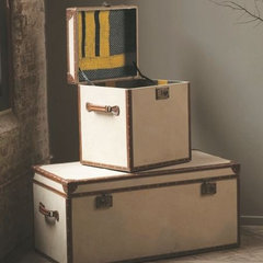 traditional storage boxes by Mothology