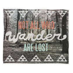 DENY Designs - Wesley Bird Wander Fleece Throw Blanket - This DENY fleece throw blanket may be the softest blanket ever! And we're not being overly dramatic here. In addition to being incredibly snuggly with it's plush fleece material, it's maching washable with no image fading. Plus, it comes in three different sizes: 80x60 (big enough for two), 60x50 (the fan favorite) and the 40x30. With all of these great features, we've found the perfect fleece blanket and an original gift! Full color front with white back. Custom printed in the USA for every order.