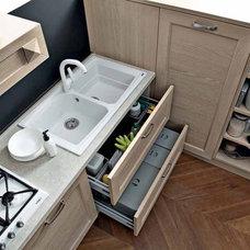 Contemporary Trash Cans by EVAA Home Design Center